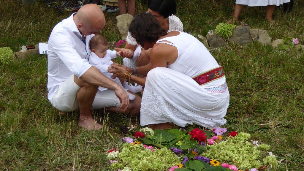 Schamanische Taufe