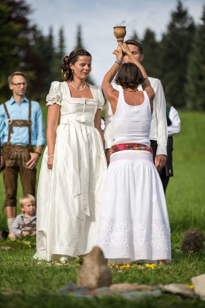 Schamanische Hochzeit